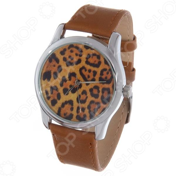 Часы наручные Mitya Veselkov «Леопардовый принт» Color часы наручные mitya veselkov райский сад color