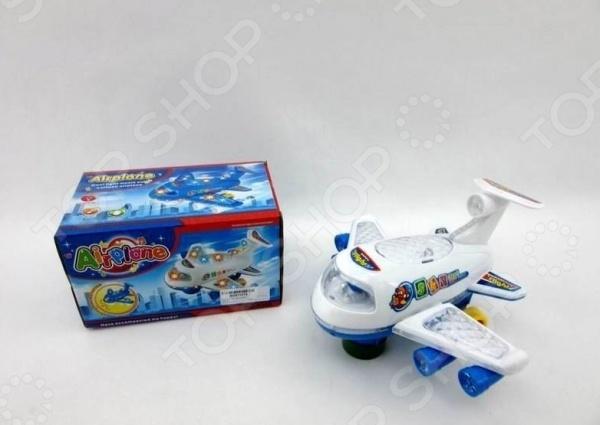 Самолет игрушечный Airplane 1717143 krooom krooom детский игрушечный магазин тележка с мороженым