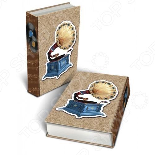Книга-шкатулка Феникс-Презент «Граммофон» 37321