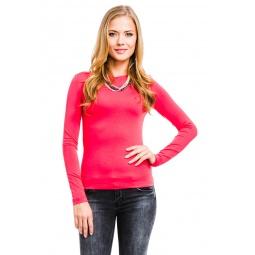 фото Кофта Mondigo 405. Цвет: ярко-розовый. Размер одежды: 44