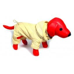 фото Комбинезон для собак DEZZIE «Рафи». Цвет: золотистый. Размер: L (30 см)