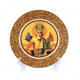 Купить Тарелка декоративная Elan Gallery «Николай Чудотворец» 340027