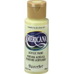 фото Краска акриловая DecoArt Премиум Americana. Цвет: лаймовый
