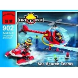 фото Конструктор игровой Brick «Пожарная команда» 902