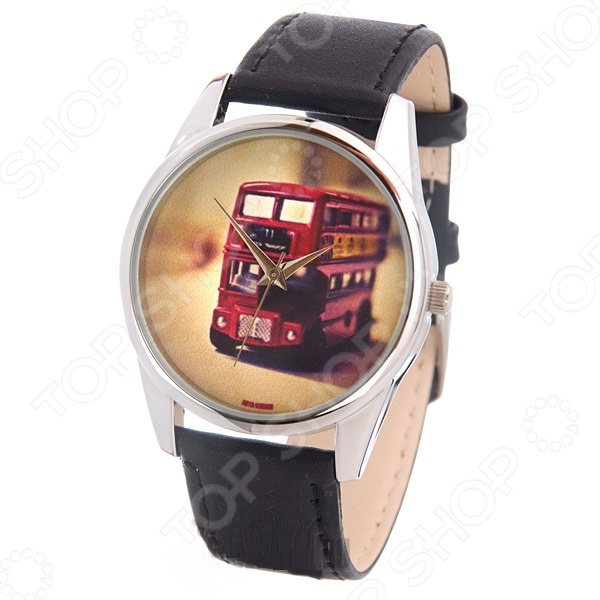Часы наручные Mitya Veselkov «Лондонский автобус» MV цена