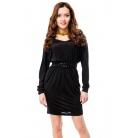 Фото Платье Mondigo 8608. Цвет: черный. Размер одежды: 46