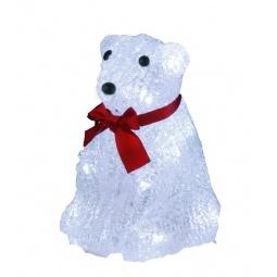 фото Фигурка с подсветкой Star Trading «Медвежонок с бантом» 583-30
