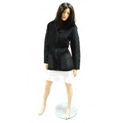 фото Пальто Sirenia Лучана. Цвет: черный. Размер одежды: 50