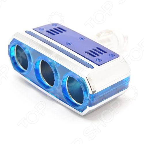 Разветвитель прикуривателя Автостоп AB-32901 обязательно пригодится тем, кто много времени проводит за рулем. Зачастую, салон современного автомобиля по наполнению электрооборудованием не уступает рабочему кабинету. Видеорегистратор, магнитола, навигатор, ионизатор воздуха, трансмиттер и многое другое можно подключать к автомобильному прикуривателю. Автостоп AB-32901 на 3 гнезда с поворотом на 90 градусов позволит вам подключать сразу несколько гаджетов.