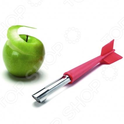 Нож для яблок OTOTO Apple shotНожи<br>Нож для яблок OTOTO Apple shot позволит вам попасть прямо в яблочко. Оригинальный нож в форме стрелы поможет вам быстро и без особых усилий очистить яблоко и вырезать сердцевину. Лезвие ножа выполнено из качественной нержавеющей стали, которая не подвержена воздействию окислительных веществ и ржавчины. Удобная рукоятка позволяет легко управлять ножом, не прилагая особый усилий, чтобы качественно почистить яблоко.<br>