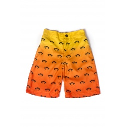 Купить Шорты детские для мальчика Appaman Logo Swim Trunks. Цвет: оранжевый