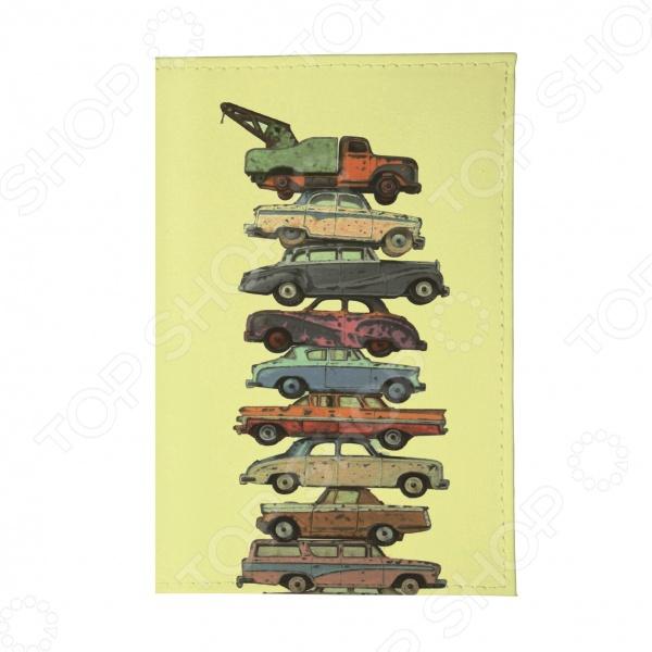 Обложка для автодокументов Mitya Veselkov «Тачки на прокачку» обложка для автодокументов кожаная mitya veselkov гагарин