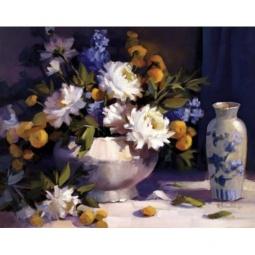 фото Картина-триптих Феникс-Презент «Цветочная композиция»