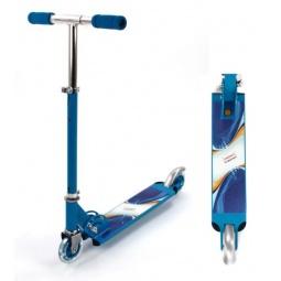 фото Самокат двухколесный X-MATCH Olympic. Цвет: синий
