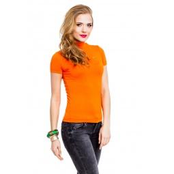 фото Водолазка Mondigo 037. Цвет: оранжевый. Размер одежды: 46