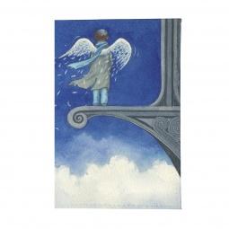 фото Обложка для паспорта Mitya Veselkov «Ангел в небесах»