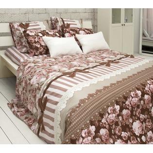Купить Комплект постельного белья Tiffany's Secret «Шоколадный этюд». Евро