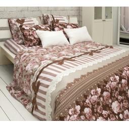 фото Комплект постельного белья Tiffany's Secret «Шоколадный этюд». Евро. Размер наволочки: 50х70 см — 2 шт