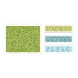 фото Набор форм для эмбоссирования Sizzix Textured Impressions Богемные узоры