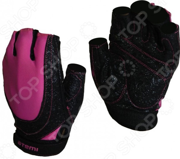 Перчатки для фитнеса Atemi AFG-06 Перчатки для фитнеса Atemi AFG-06p /Розовый/Черный