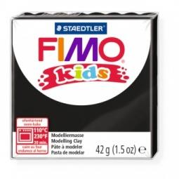 фото Глина полимерная для детей Fimo kids. Цвет: черный