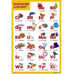 Купить Немецкий алфавит