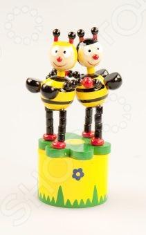 Игрушка деревянная Mapacha «Танцующие пчелки»