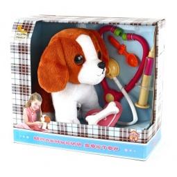фото Игрушка интерактивная мягкая Fluffy Family «Маленький доктор. Пес»