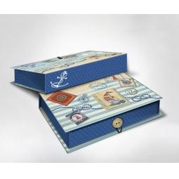 фото Шкатулка-коробка подарочная Феникс-Презент «Пляж». Размер: M (20х14 см). Высота: 6 см