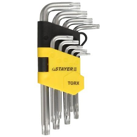 Купить Набор ключей имбусовых коротких Stayer Master 2743-H9