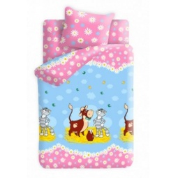 фото Детский комплект постельного белья Непоседа «Лето в Простоквашино» 173898