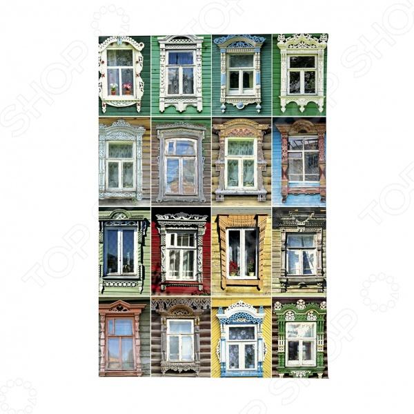 Обложка для автодокументов Mitya Veselkov «Большие окна»
