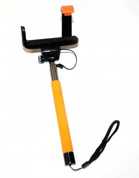 Монопод телескопический для селфи Bradex TD Монопод телескопический для селфи Bradex TD 0332 /Оранжевый
