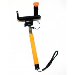 фото Монопод телескопический для селфи Bradex TD. Цвет: оранжевый