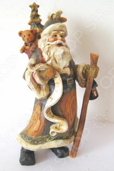 Елочное украшение-подвеска Crystal Deco «Санта» 1707790
