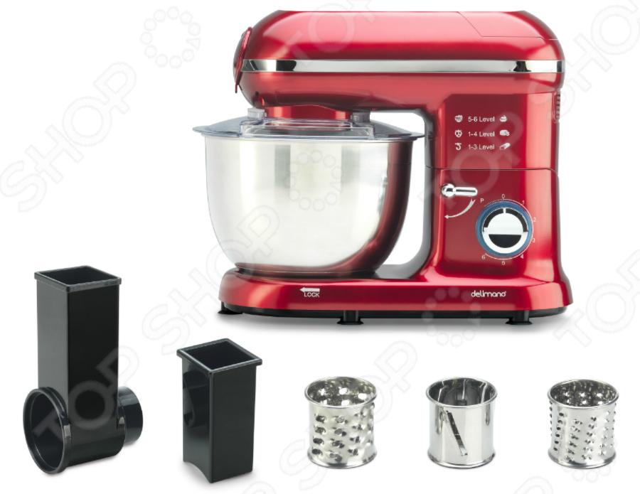 Набор для нарезки и терки к кухонному робот-комбайну Delimano