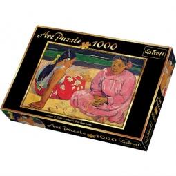 Купить Пазл 1000 элементов Trefl «Таитянские женщины на пляже-Эдгар Дега»
