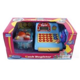 фото Игровой набор для девочки Shantou Gepai «Касса электронная со сканером и набором продуктов» 629000