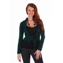 фото Болеро Mondigo 9406. Цвет: темно-зеленый. Размер одежды: 44
