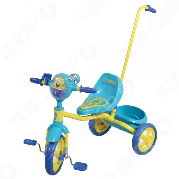 Велосипед трехколесный 1 Toy Т57575 «Губка Боб»