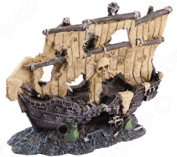 Корабль для аквариума DEZZIE «Жемчужина» минеральная вода жемчужина байкала 1 25 негаз пэт жемчужина байкала
