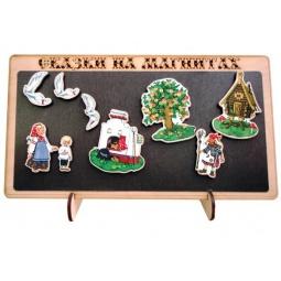 фото Доска магнитная для ребенка БЭМБИ «Сказки на магнитах. Гуси-Лебеди»