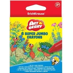 фото Набор мелков восковых Erich Krause Super Jumbo Artberry