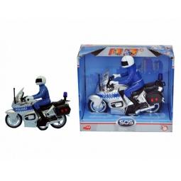 Купить Мотоцикл полицейский Dickie. В ассортименте