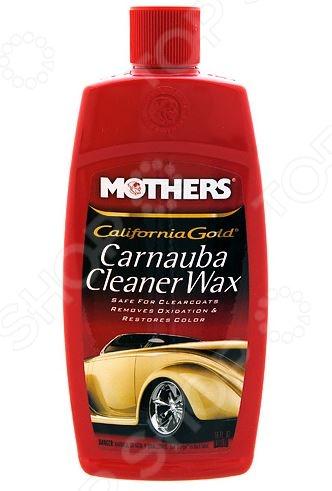 Полироль-очиститель с воском карнаубы Mothers MS05701 California Gold - артикул: 487655