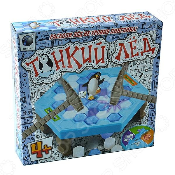 Игра настольная Shantou Gepai «Тонкий лед» настольные игры shantou gepai логическая игра змейка малая 24 элемента