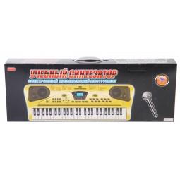фото Музыкальный инструмент игрушечный Zhorya «Учебный синтезатор с микрофоном»