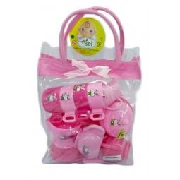 фото Набор игровой для девочки Shantou Gepai «Посуда в сумочке» 625352