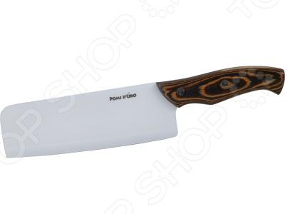 Нож керамический Pomi d'Oro K1838 нож pomi doro legno bianco k1838 длина лезвия 180мм