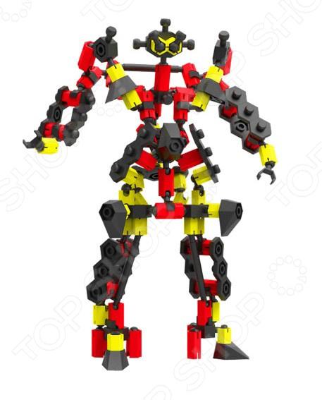 Конструктор для мальчика Бинар «Ягумо»Космолеты. Роботы. Трансформеры<br>Конструктор для мальчика Бинар Ягумо - оригинальный конструктор, который увлечет не только детей, но и взрослых. Яркие и прочные детали легко и надежно крепится друг другу, позволяя создать объемные, необычные и красивые фигурки роботов. Главной особенностью этого удивительного конструктора является способ сборки в 3D формате, что означает что получившаяся фигура будет отличаться необычайной детализацией. В наборе вы найдете около 105 деталей, с помощью которых вы сможет создать собственную уникальную модель, или же, придерживаясь буклета, собрать модель по образцу. Конструктор для мальчика Бинар Ягумо поможет в игровой форме развить воображение, мелкую моторику рук, стратегическое мышление, умение работать по образцу, пространственное мышление и фантазию.<br>